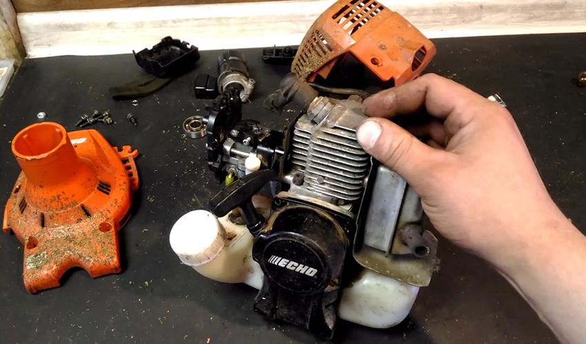 Ремонт двигателей триммеров